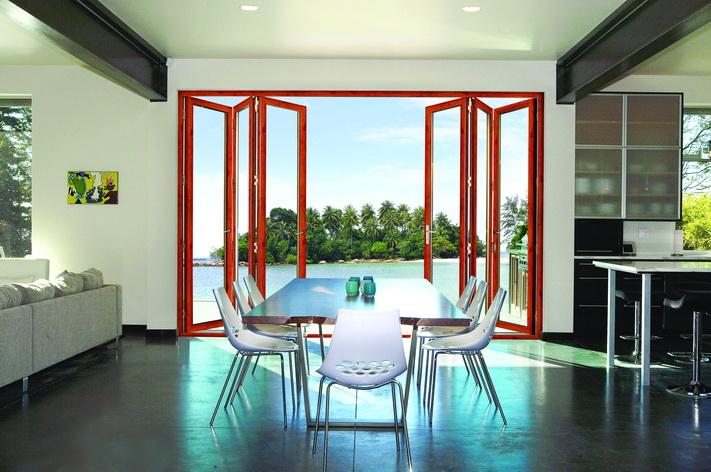 75系列豪华铝合金折叠门