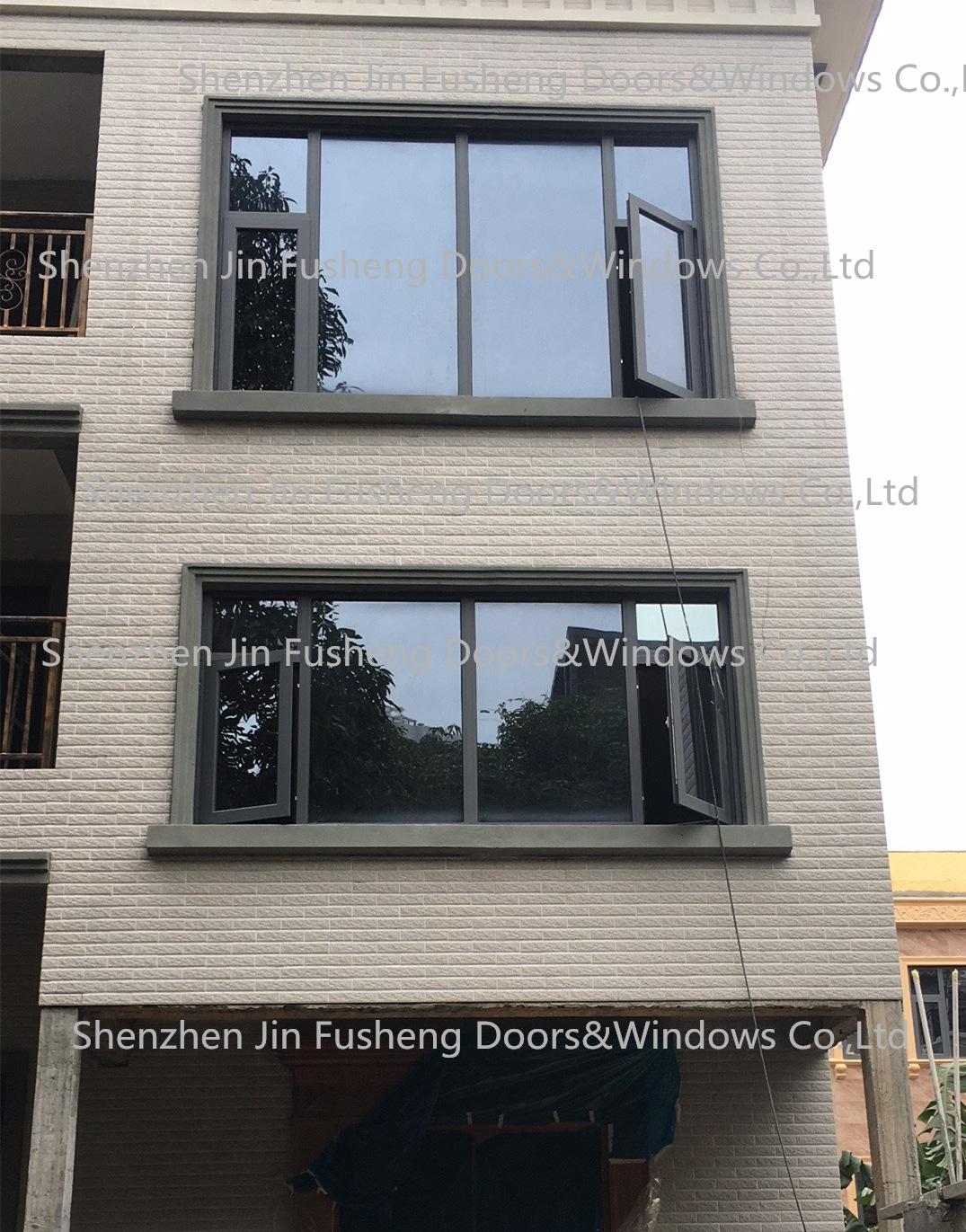 2017年7月 深圳别墅门窗案例