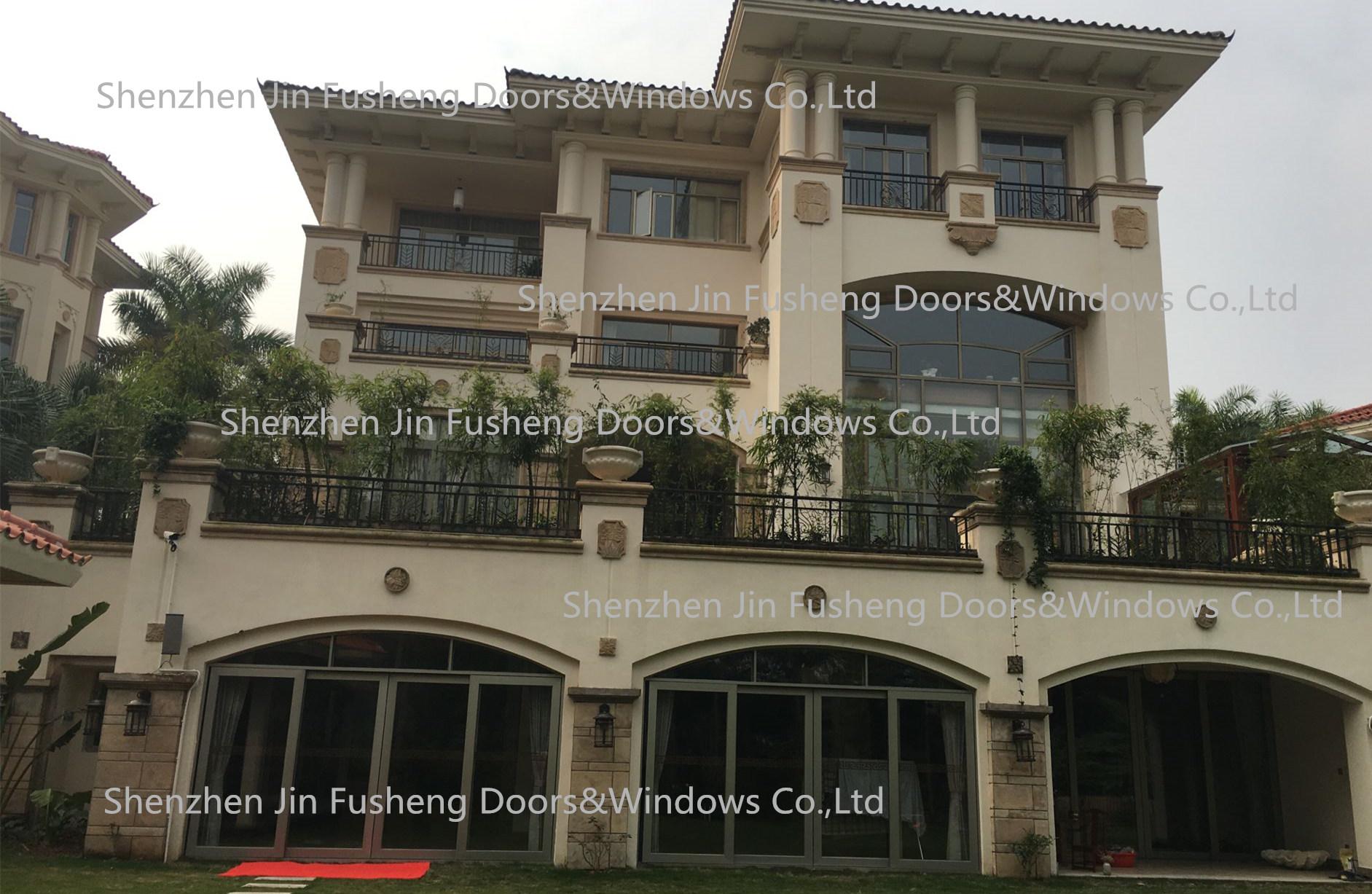 2017年8月深圳别墅门窗案例